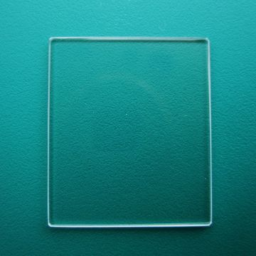 Generic Cartier Mineral Flat TV  Watch Glass 22.00mm x 19.60mm - 0.9mm Thickness
